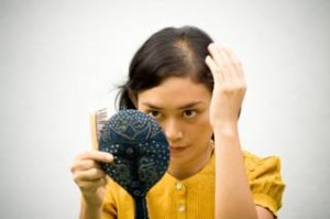women with hair loss page